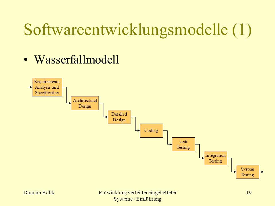 Softwareentwicklungsmodelle (1)