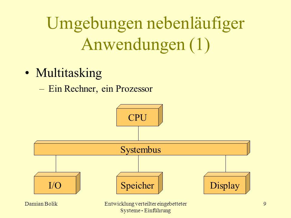 Umgebungen nebenläufiger Anwendungen (1)