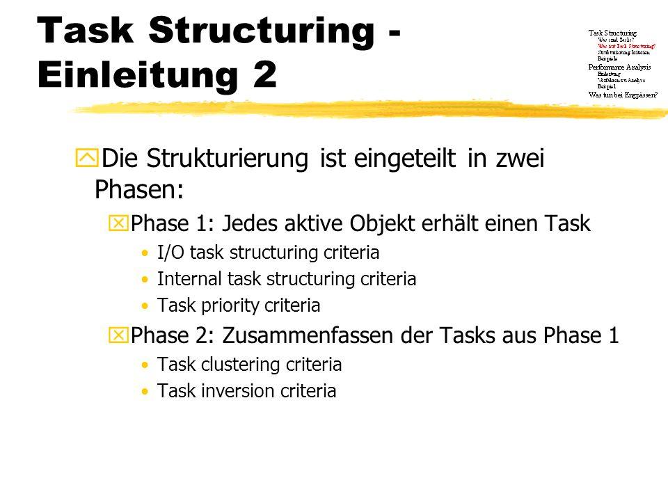 Task Structuring - Einleitung 2