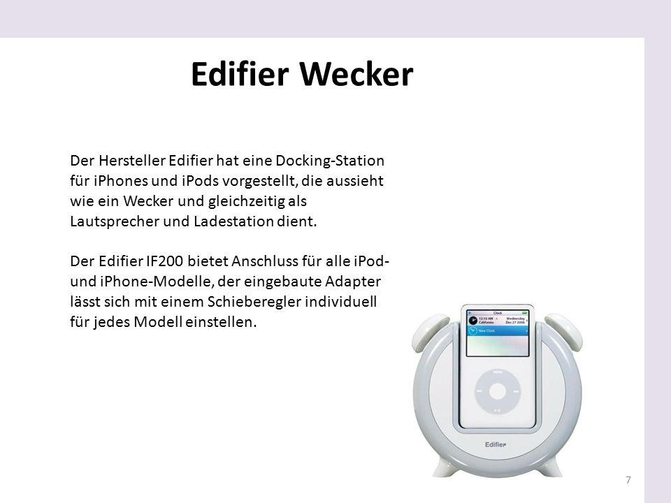 Edifier Wecker