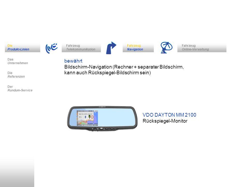 Bildschirm-Navigation (Rechner + separater Bildschirm,