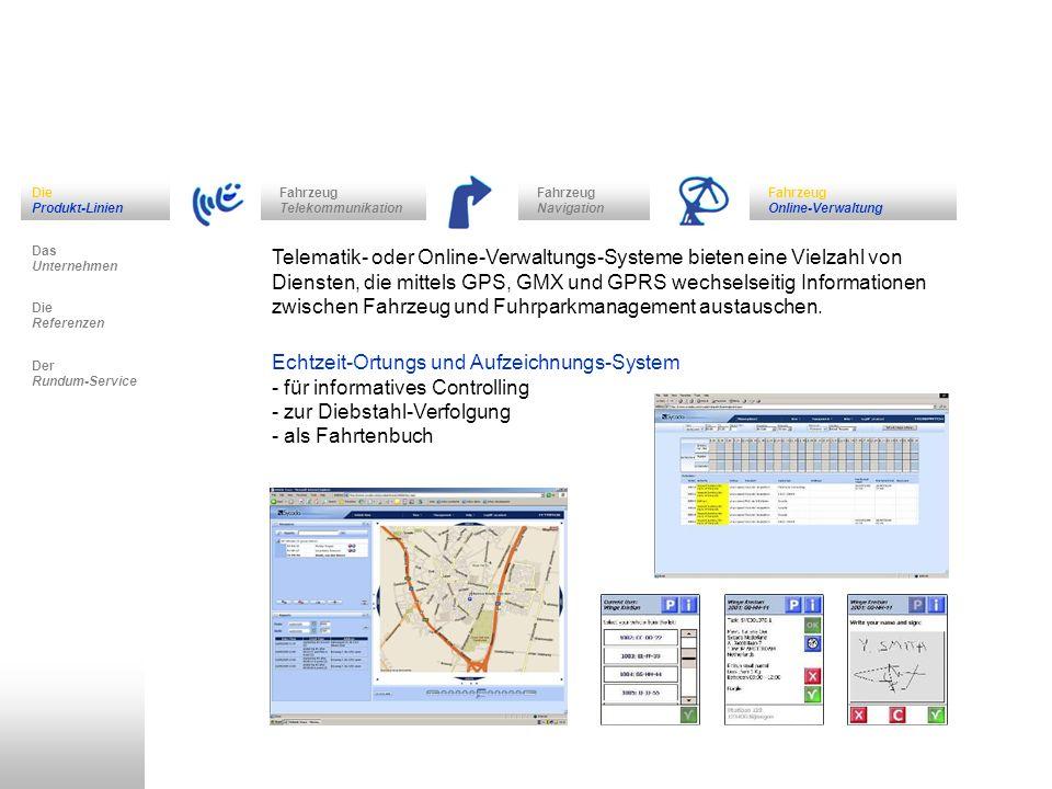 Echtzeit-Ortungs und Aufzeichnungs-System