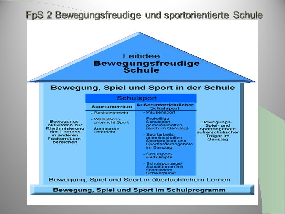 FpS 2 Bewegungsfreudige und sportorientierte Schule