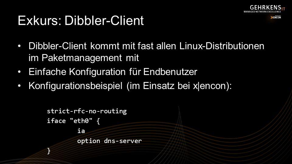 Exkurs: Dibbler-Client