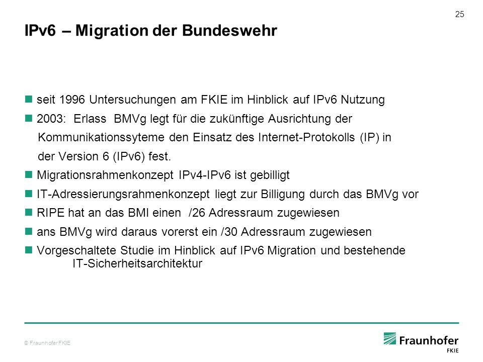 IPv6 – Migration der Bundeswehr