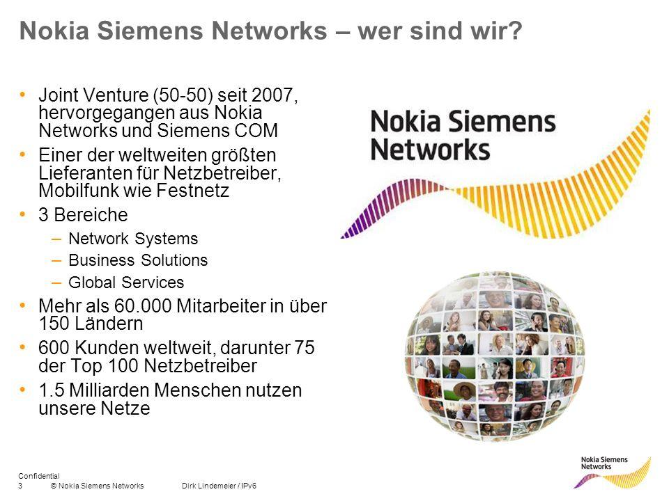 Nokia Siemens Networks – wer sind wir