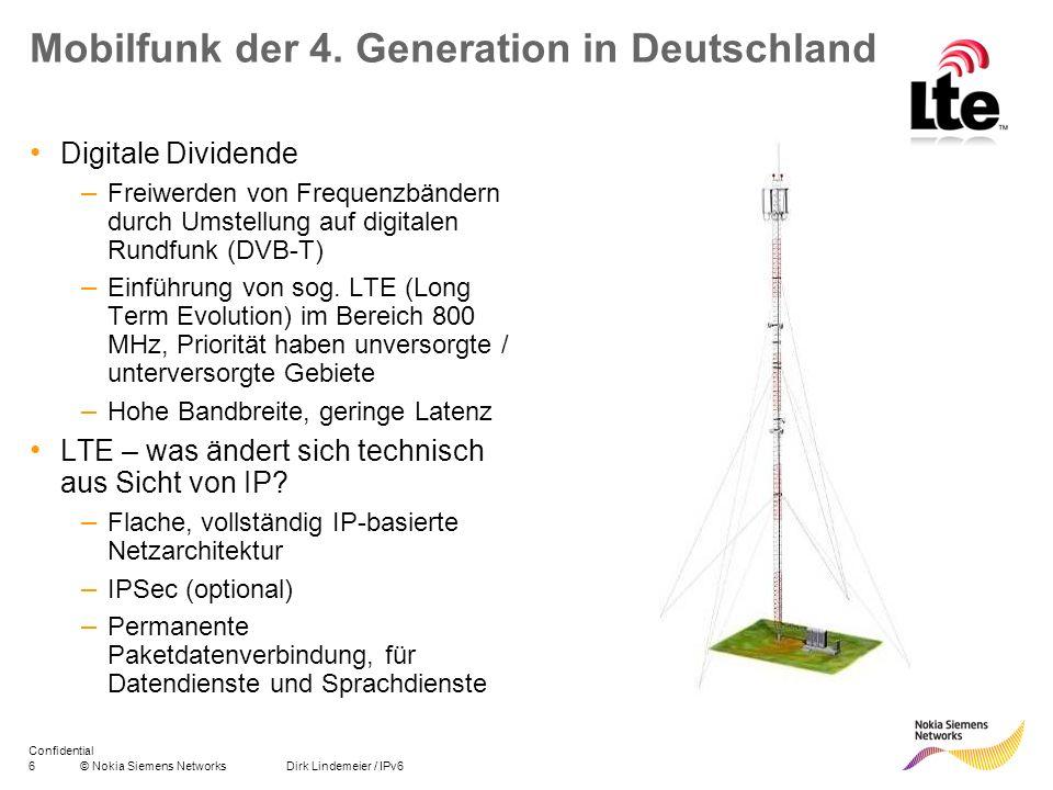 Mobilfunk der 4. Generation in Deutschland