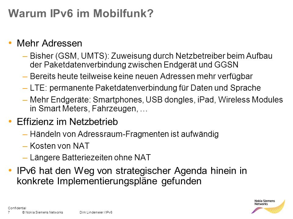 Warum IPv6 im Mobilfunk Mehr Adressen Effizienz im Netzbetrieb