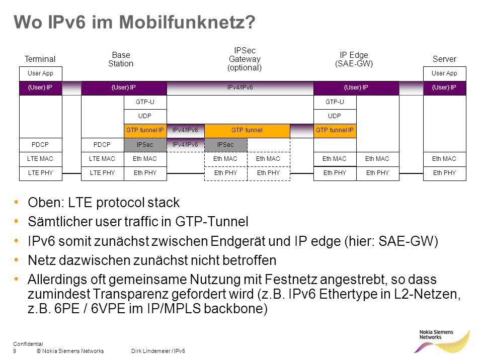 Wo IPv6 im Mobilfunknetz