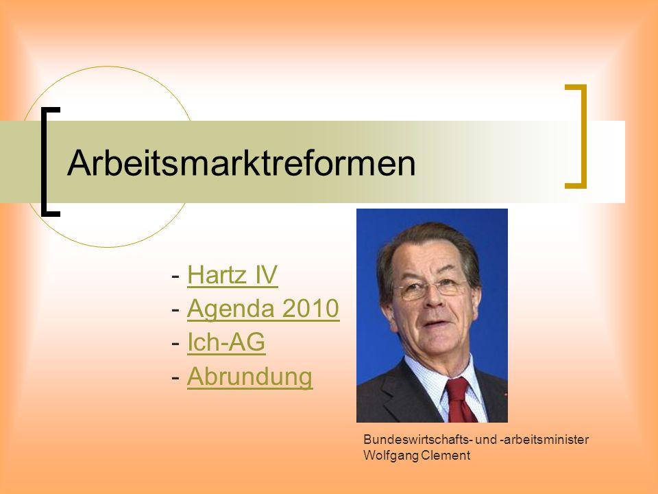 Arbeitsmarktreformen