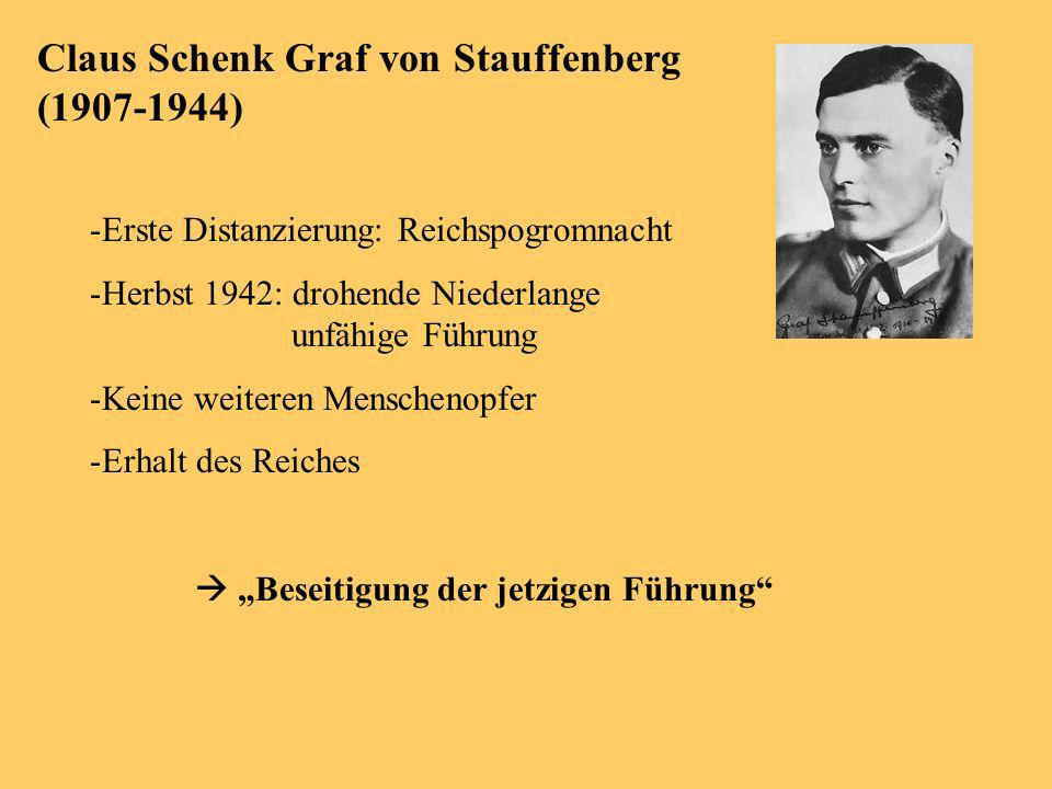 Claus Schenk Graf von Stauffenberg (1907-1944)
