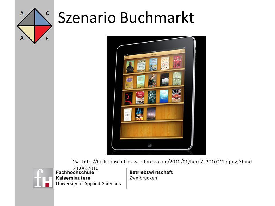 Szenario Buchmarkt Da niemand in die Zukunft sehen kann, gibt es viele Zukunftsszenarien.