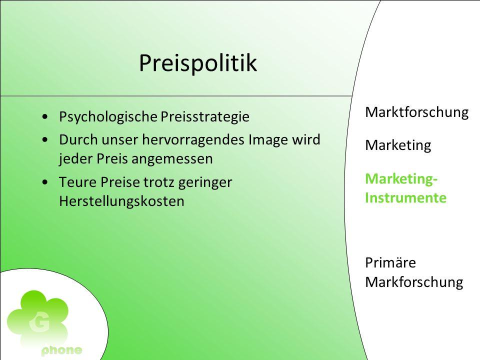 Preispolitik Psychologische Preisstrategie