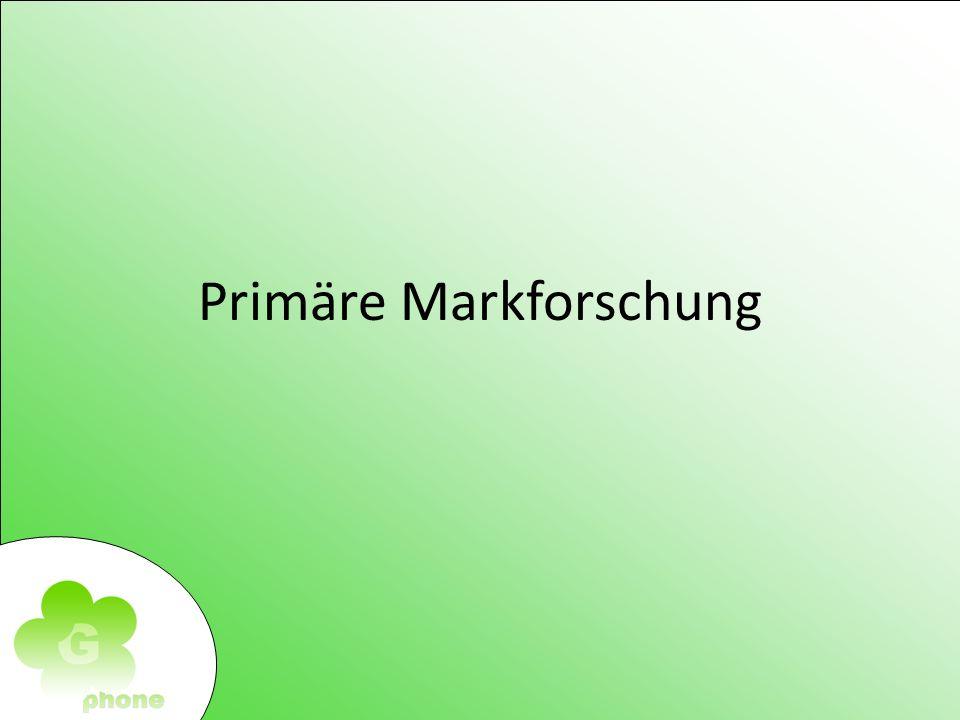 Primäre Markforschung