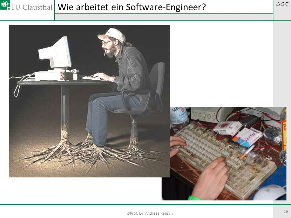 Wie arbeitet ein Software-Engineer