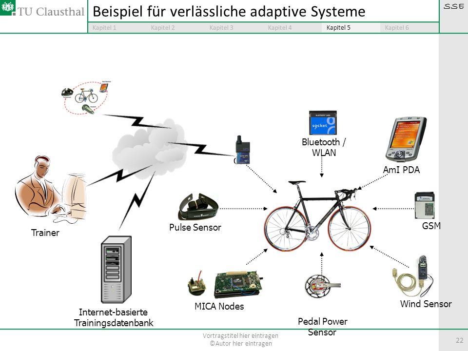 Beispiel für verlässliche adaptive Systeme
