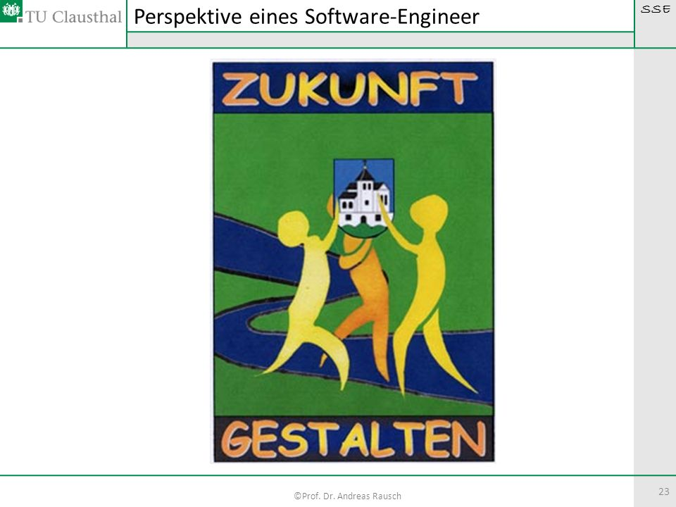 Perspektive eines Software-Engineer
