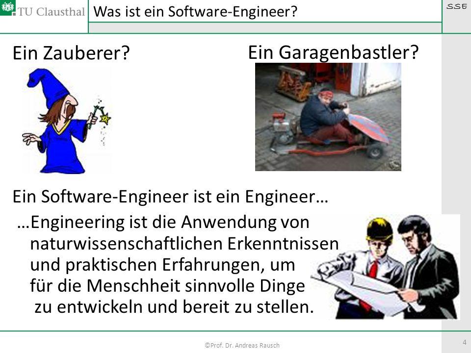 Was ist ein Software-Engineer