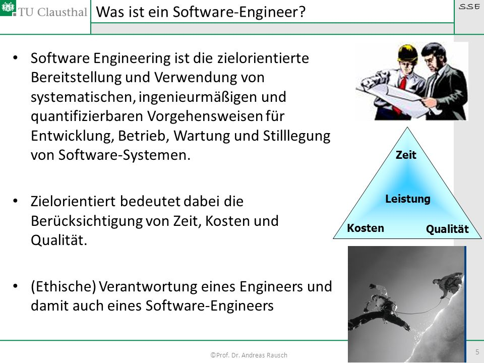 Was ist ein Software-Engineer