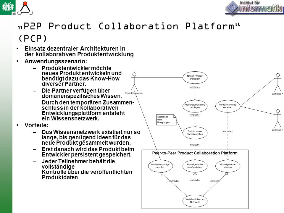 """""""P2P Product Collaboration Platform (PCP)"""