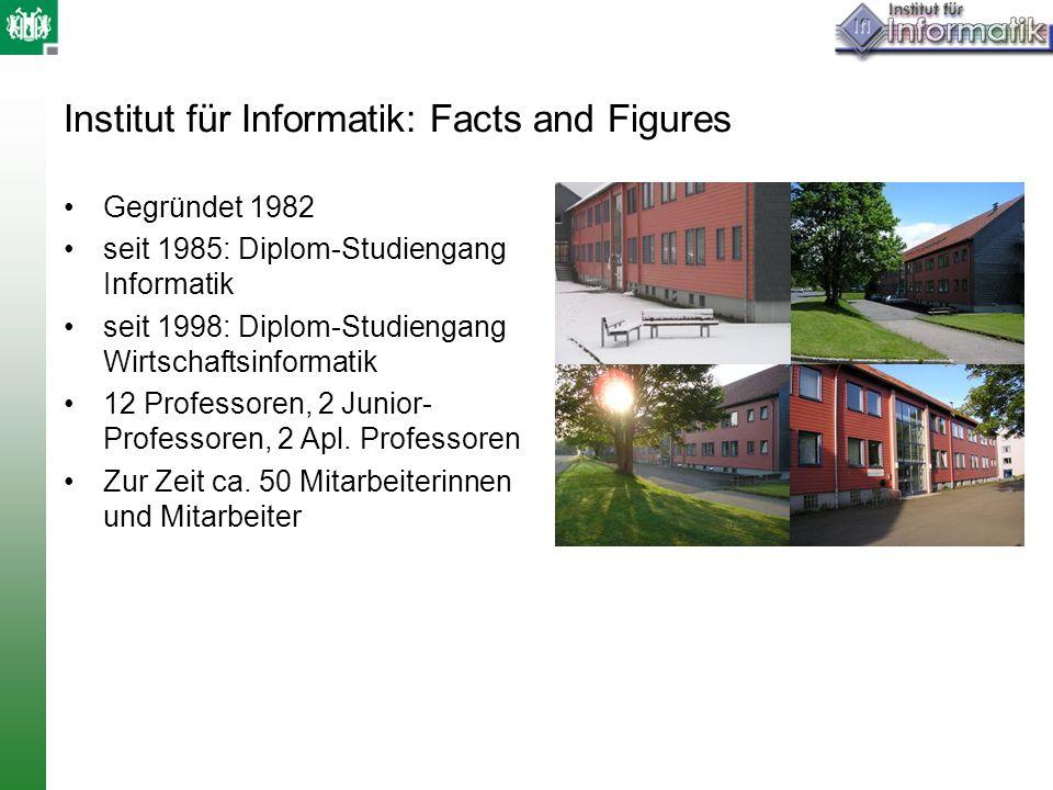 Institut für Informatik: Facts and Figures