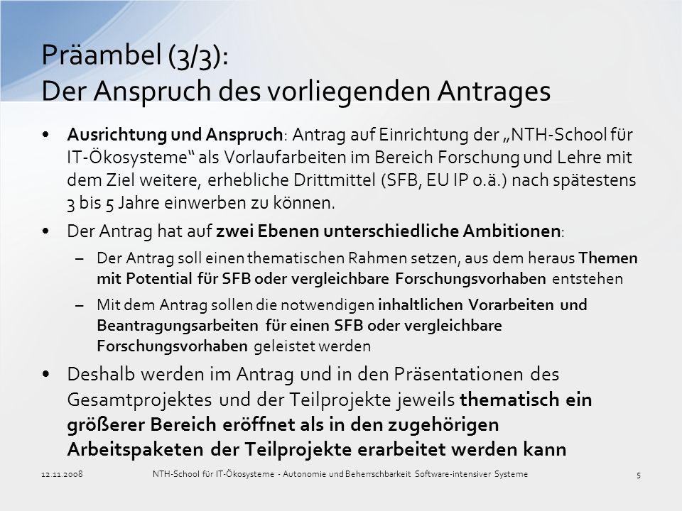 Präambel (3/3): Der Anspruch des vorliegenden Antrages