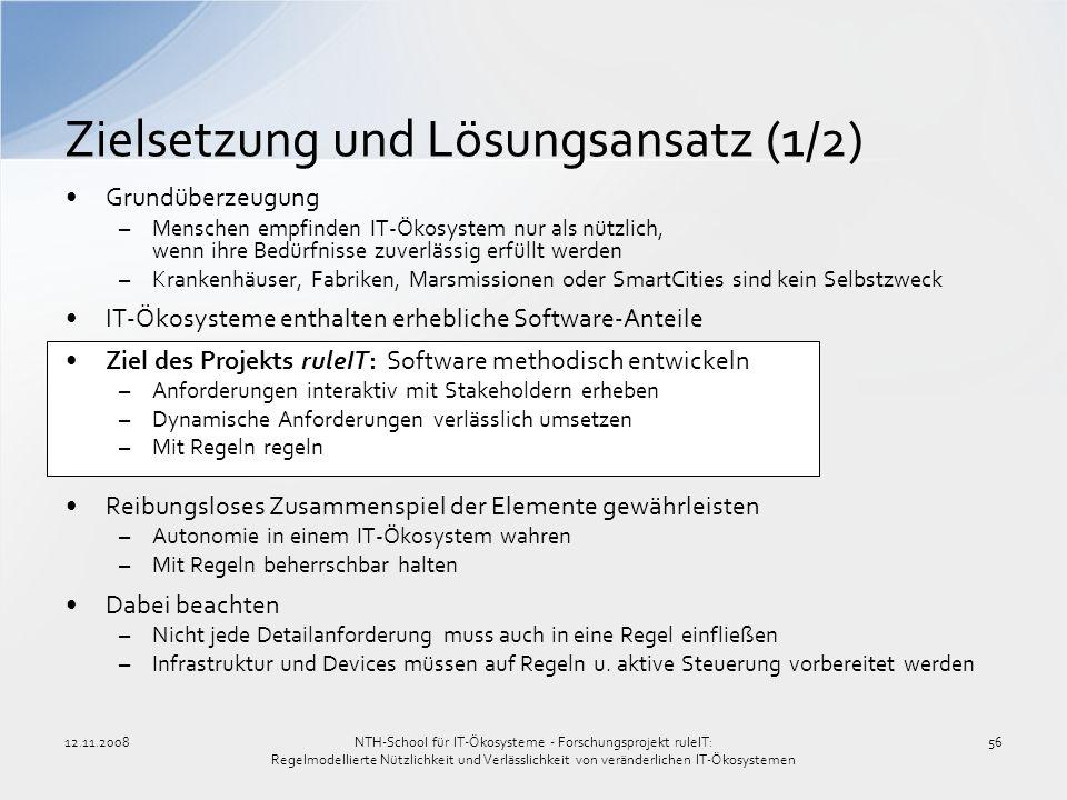 Zielsetzung und Lösungsansatz (1/2)