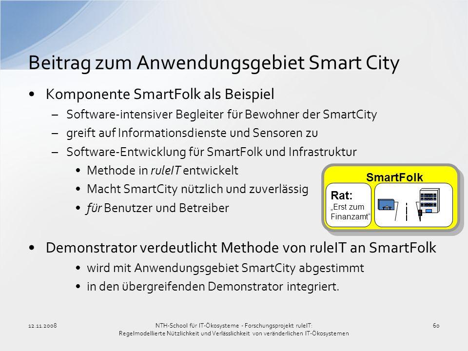 Beitrag zum Anwendungsgebiet Smart City