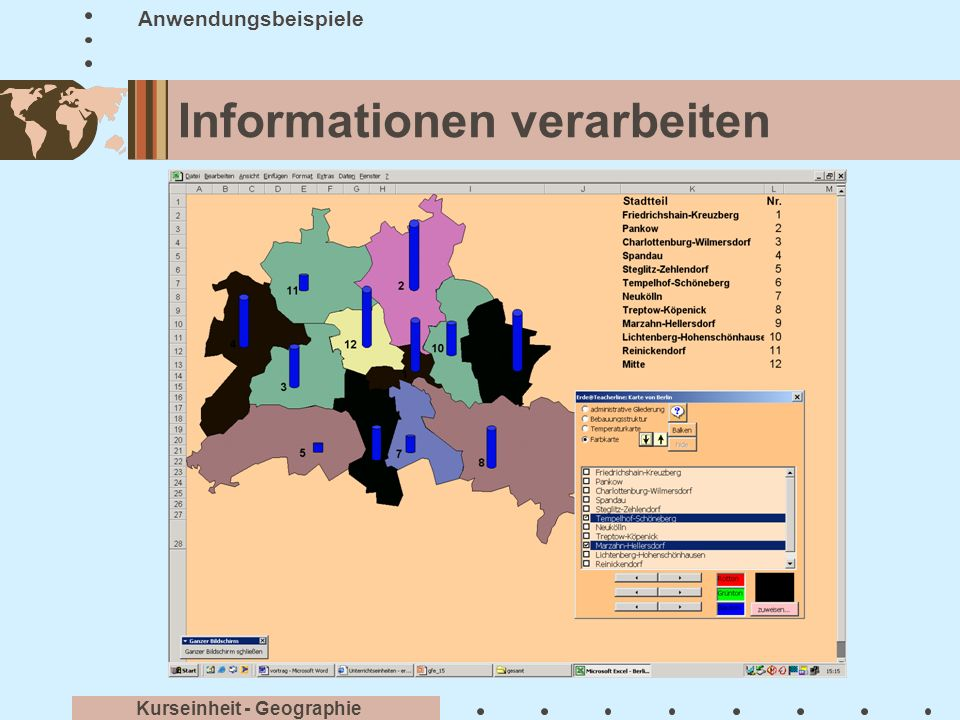 Informationen verarbeiten