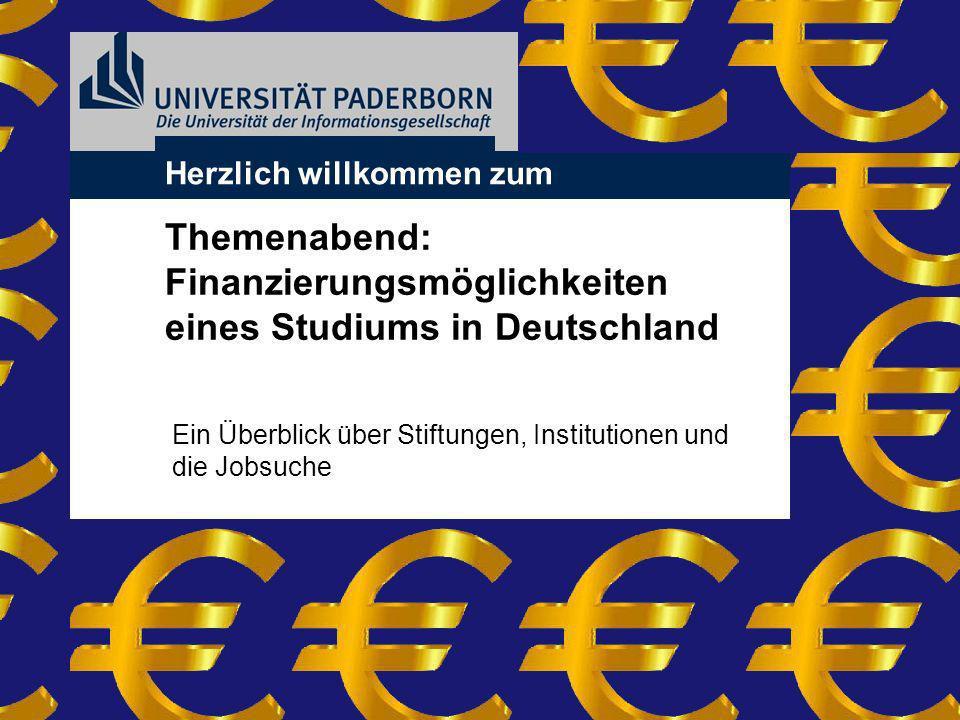 Finanzierungsmöglichkeiten eines Studiums in Deutschland