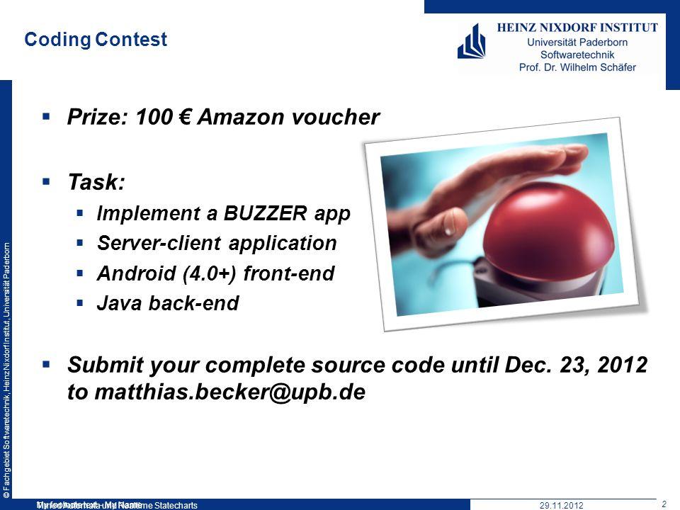 Prize: 100 € Amazon voucher Task:
