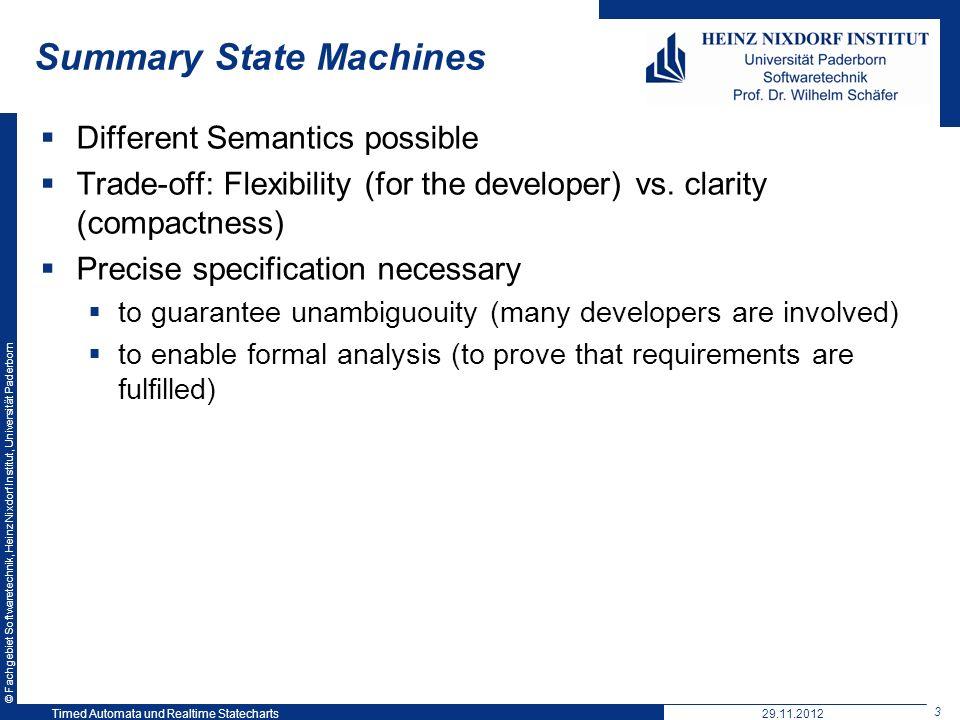 Summary State Machines