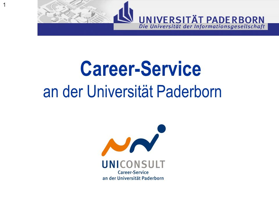 an der Universität Paderborn
