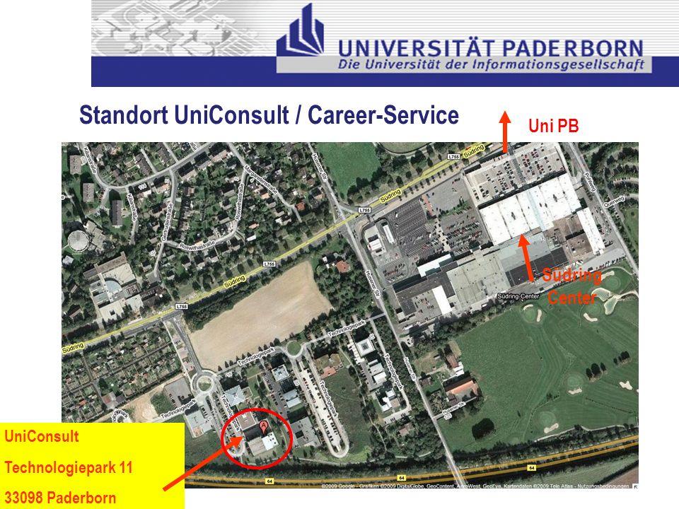Standort UniConsult / Career-Service