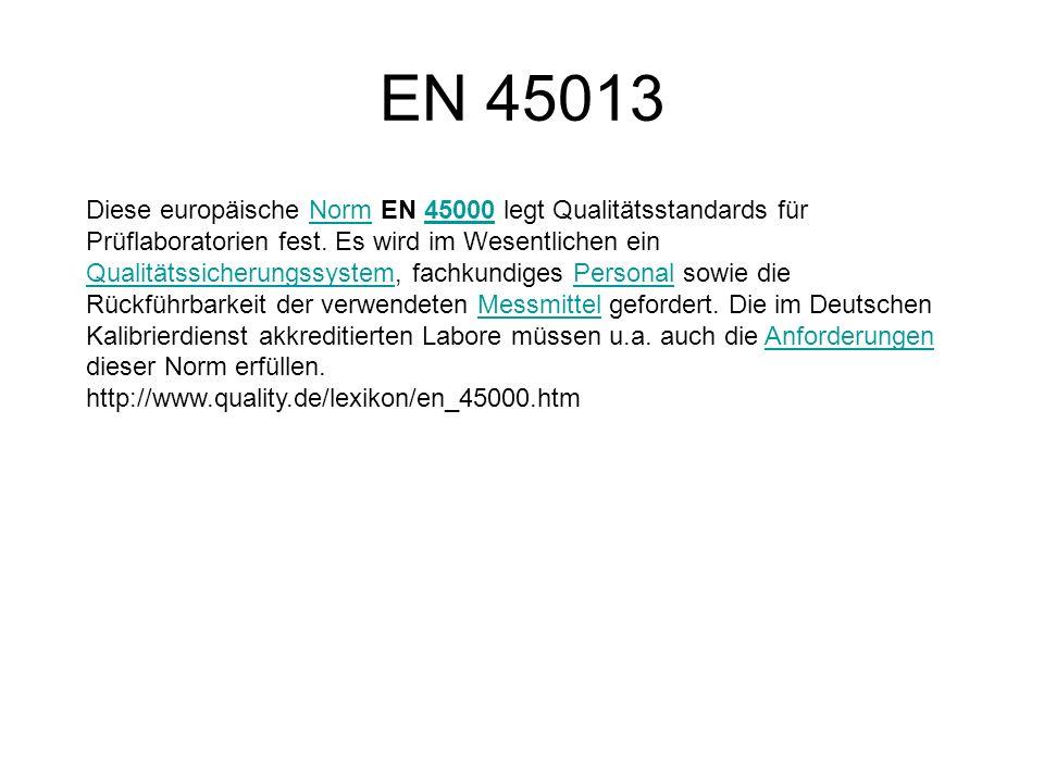 EN 45013