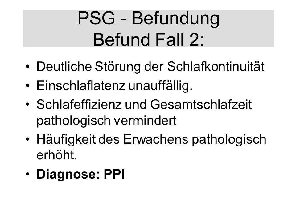PSG - Befundung Befund Fall 2: