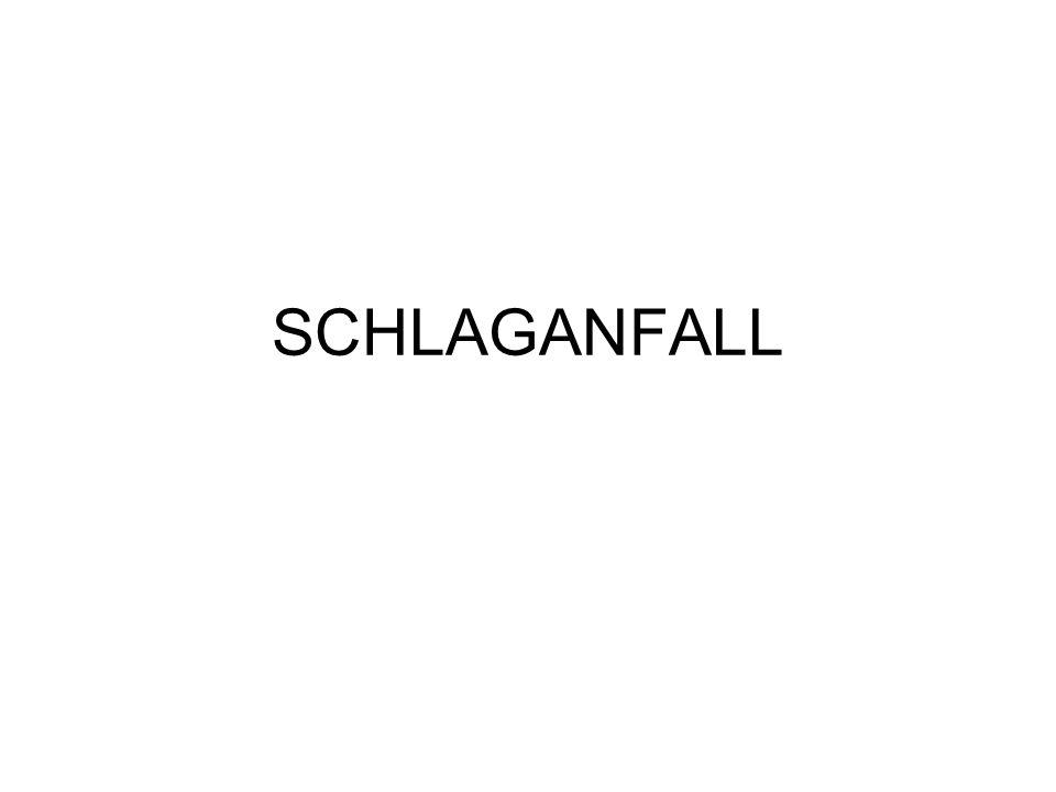 SCHLAGANFALL