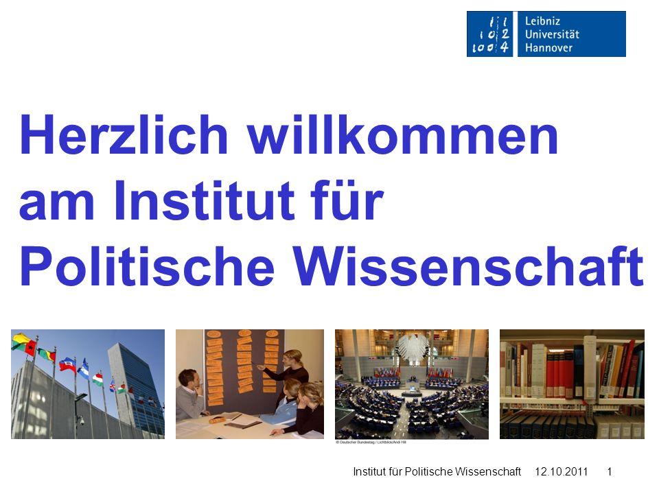 Herzlich willkommen am Institut für Politische Wissenschaft