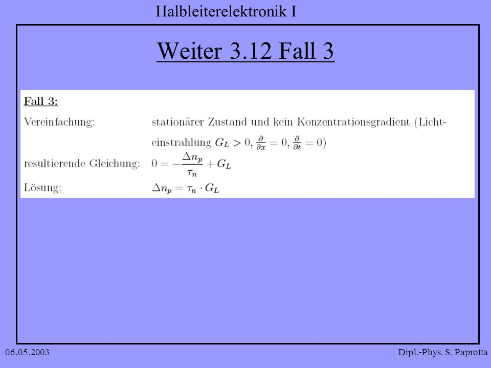 Weiter 3.12 Fall 3 06.05.2003