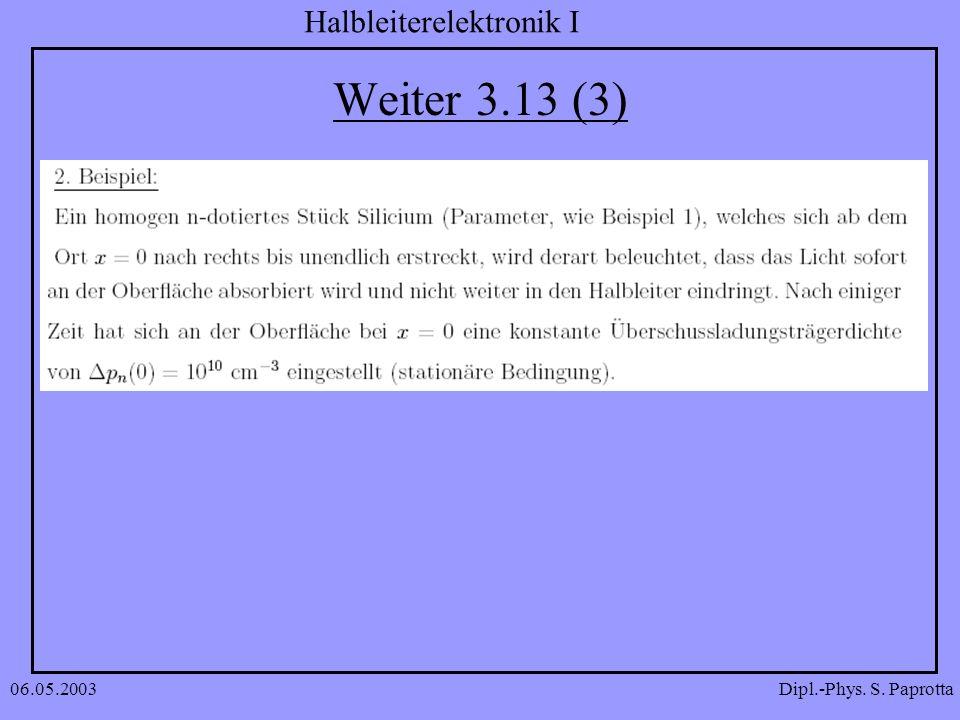 Weiter 3.13 (3) 06.05.2003