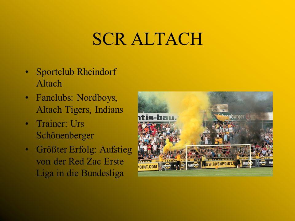 SCR ALTACH Sportclub Rheindorf Altach