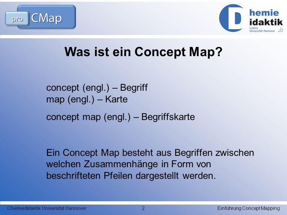 Was ist ein Concept Map