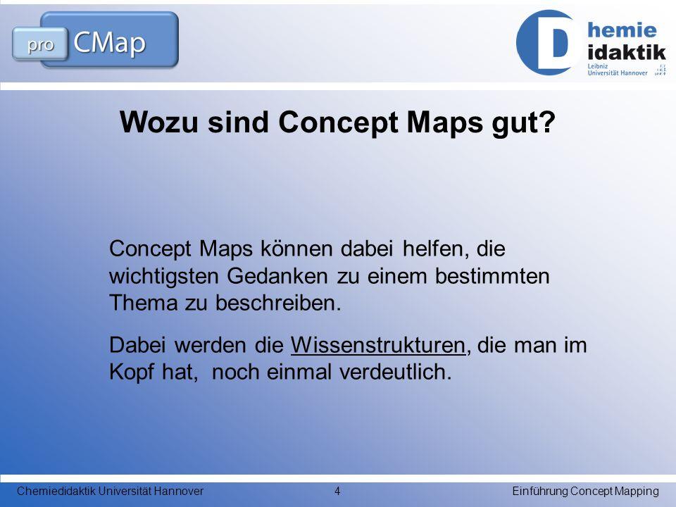 Wozu sind Concept Maps gut