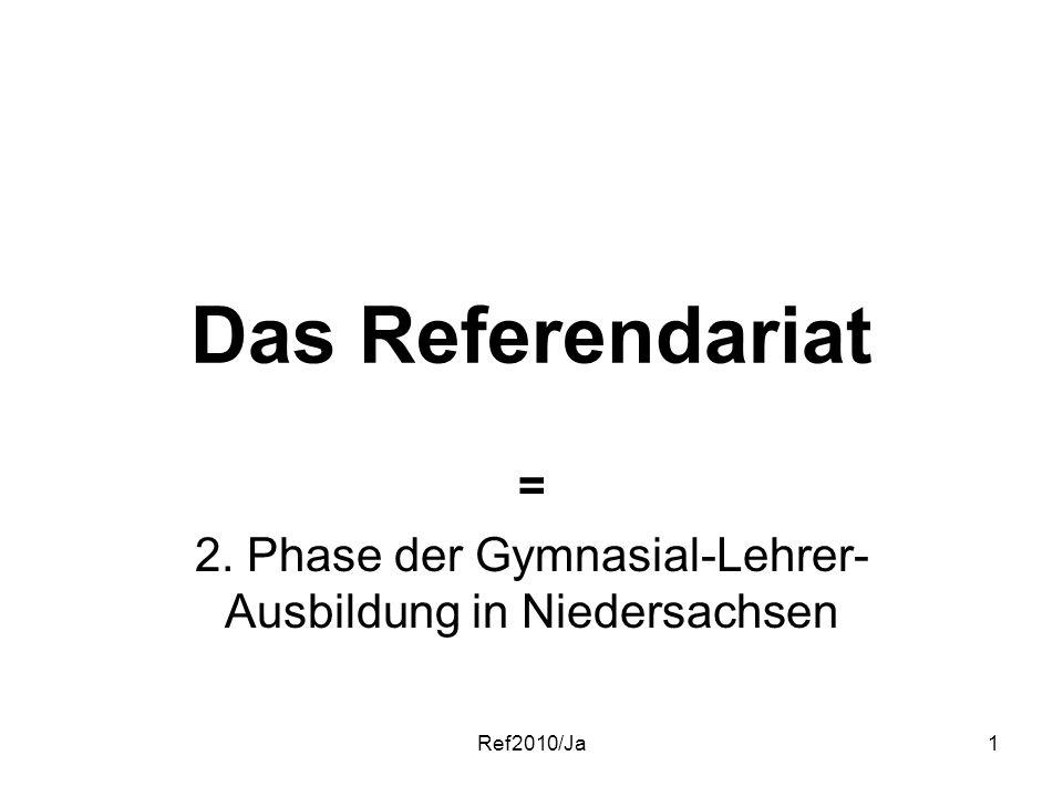 = 2. Phase der Gymnasial-Lehrer-Ausbildung in Niedersachsen