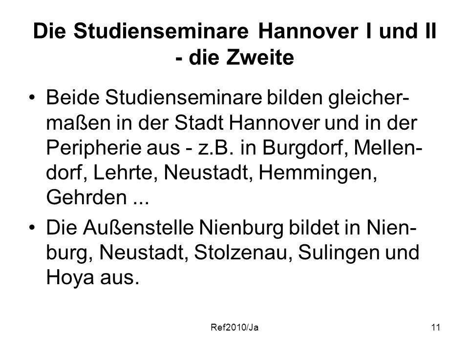 Die Studienseminare Hannover I und II - die Zweite