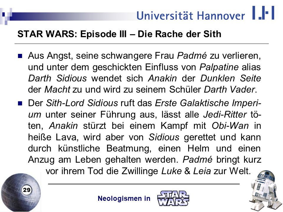 STAR WARS: Episode III – Die Rache der Sith