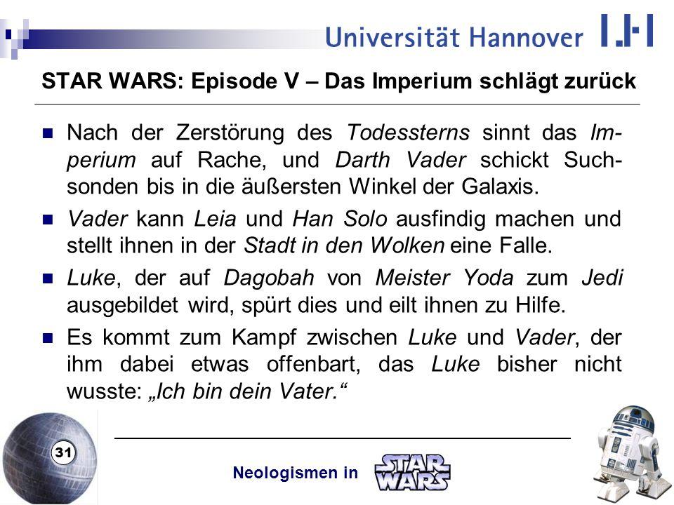 Luke Obi Wan Dialoge Die Rückkehr Der Jedi