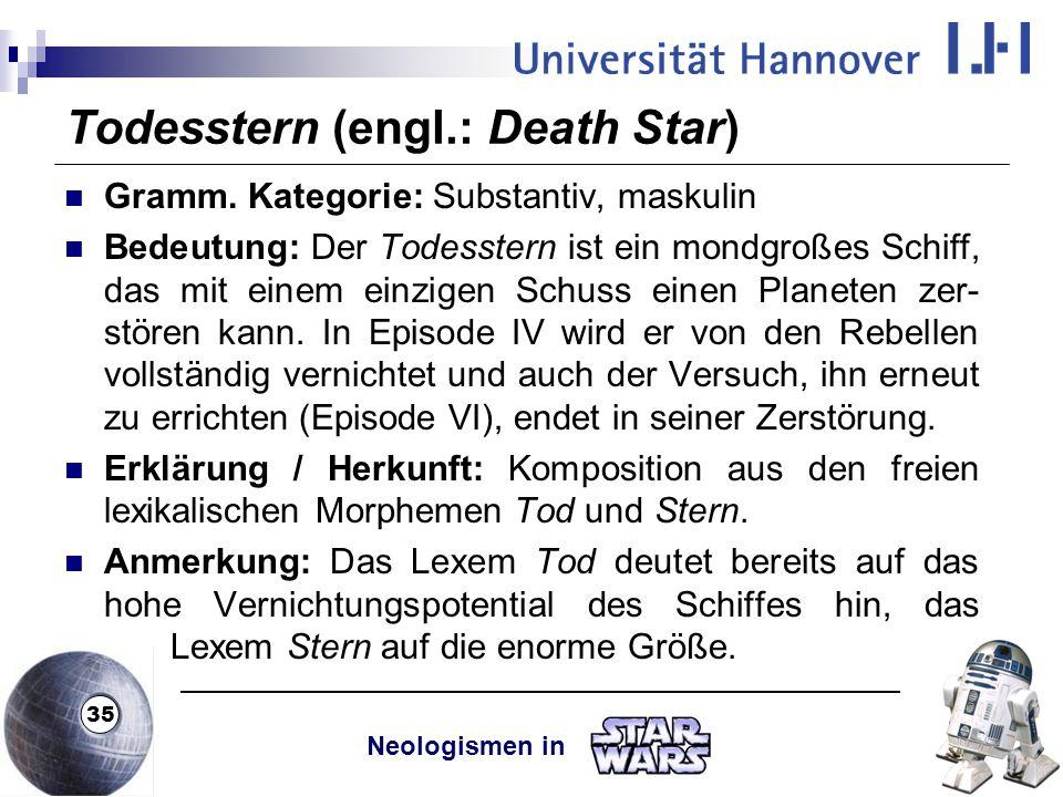 Todesstern (engl.: Death Star)