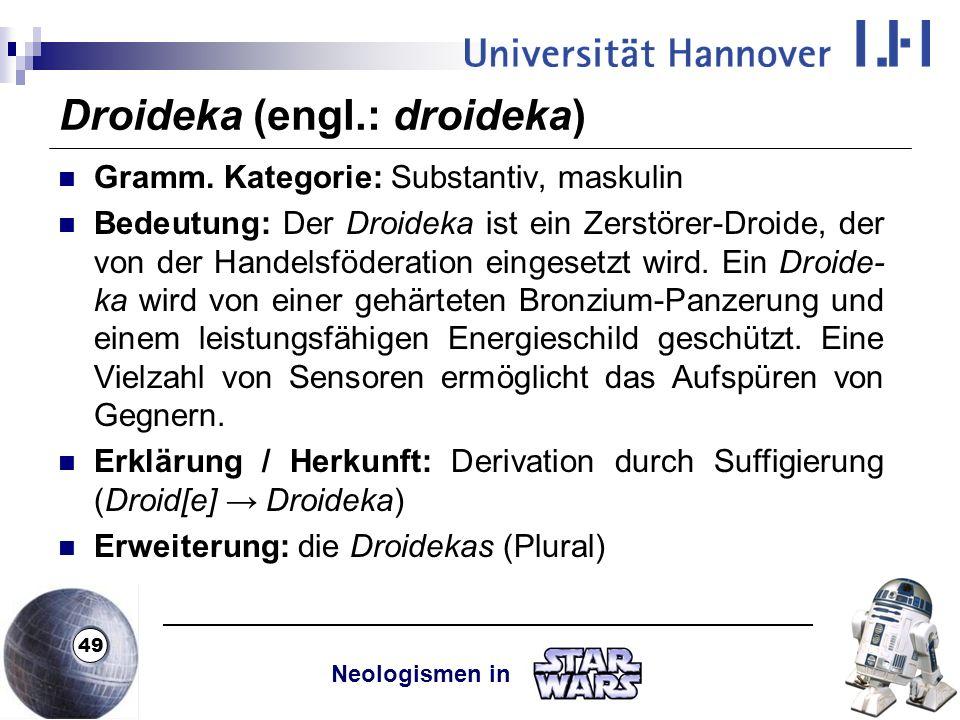 Droideka (engl.: droideka)