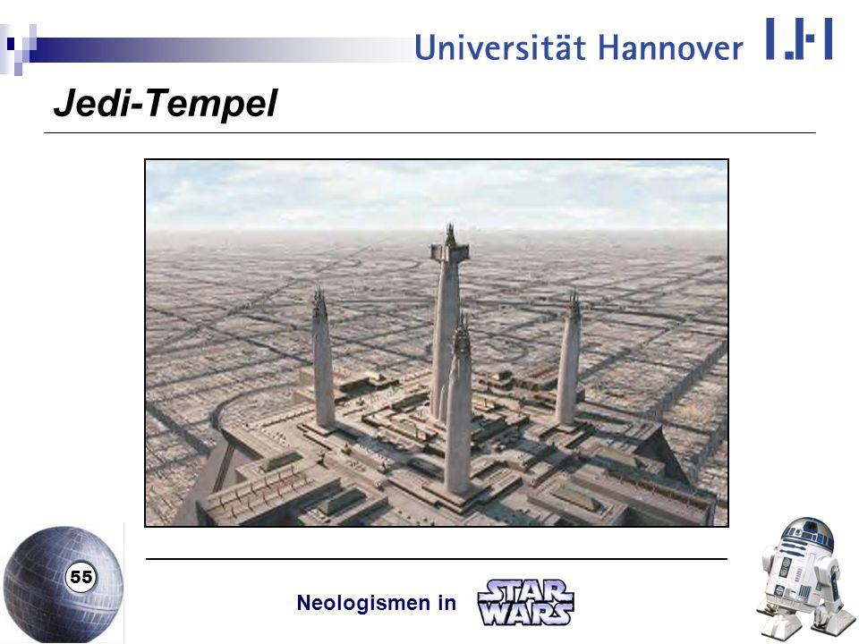 Jedi-Tempel Neologismen in